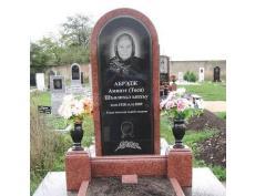 Памятники из красного гранита круглой формы изготовление памятников в ставрополе ярославле