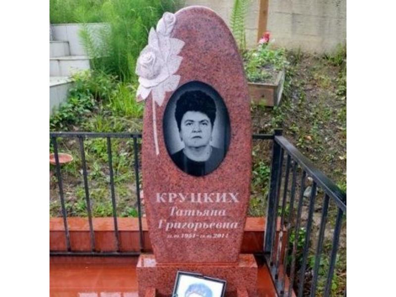 Памятники из красного гранита круглой формы цены на памятники в могилеве холодильники